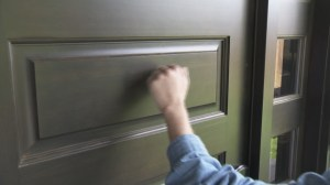 Warning for door-to-door sales referrals